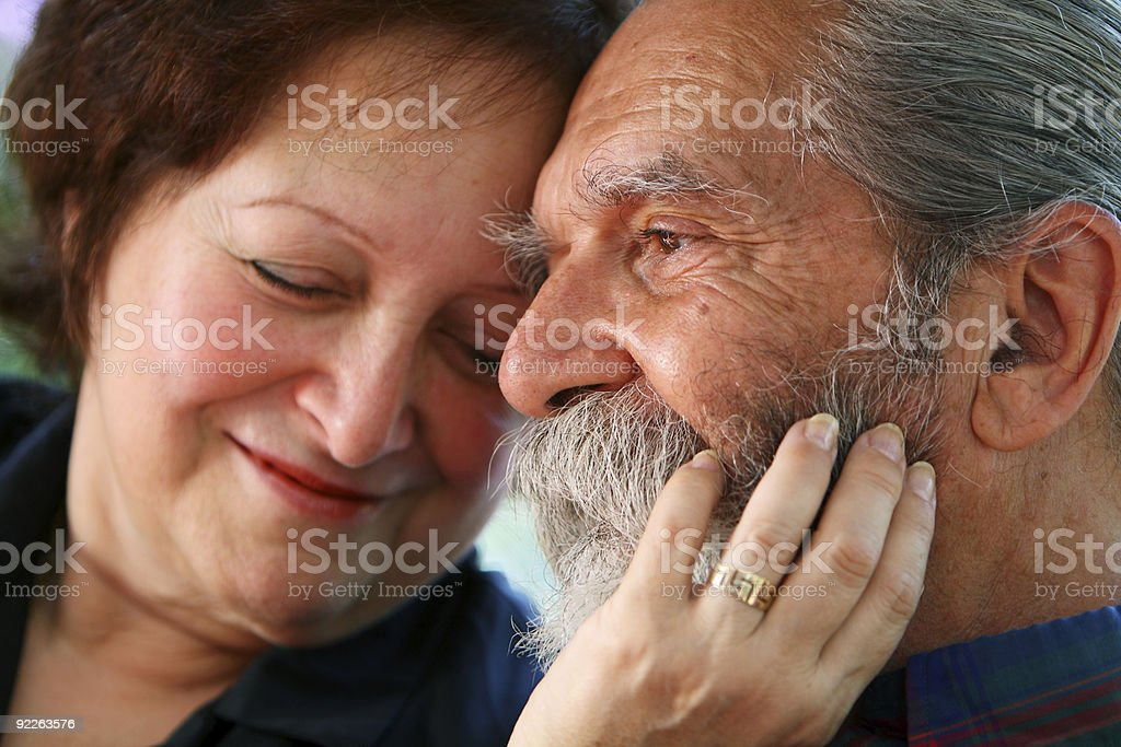 Old Couple royalty-free stock photo