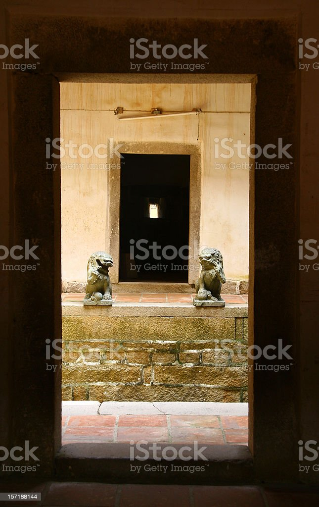 old court royalty-free stock photo