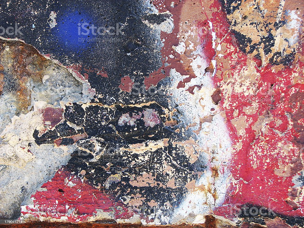 Old cracked wall background royalty-free stock photo