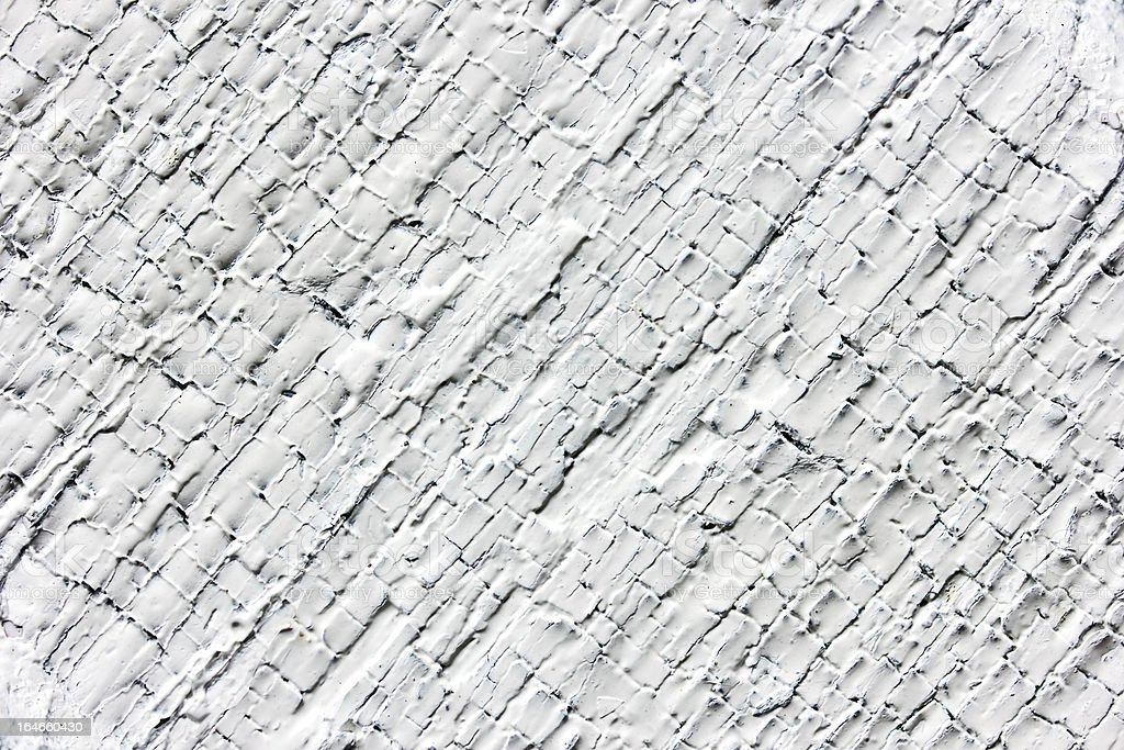 Old cracked white painted texture royalty-free stock photo
