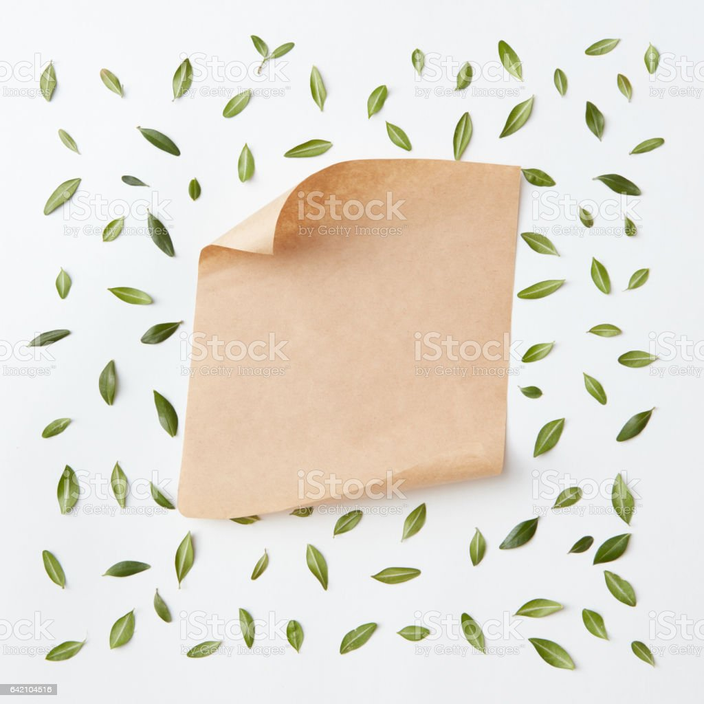 old craft paper stock photo