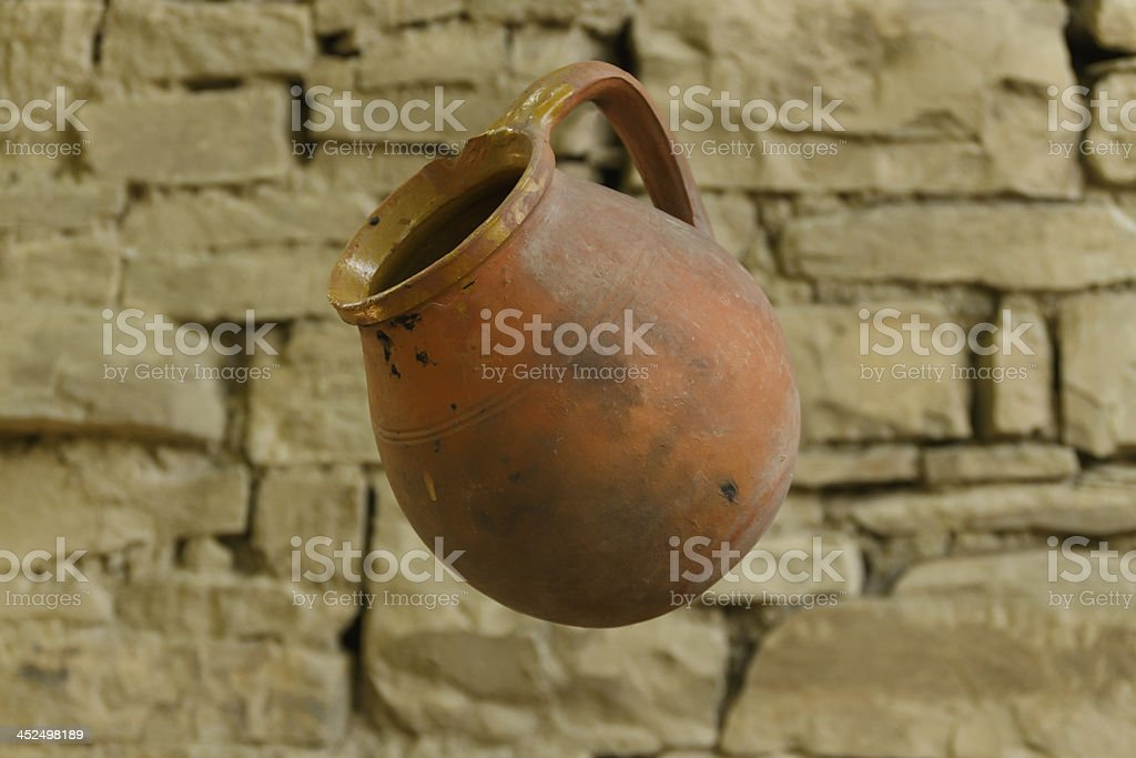 old crock royalty-free stock photo