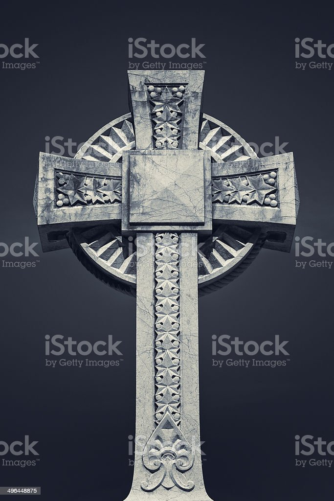 Old cross royalty-free stock photo