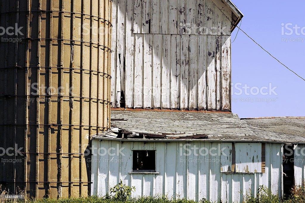 Old Crumbling Barn royalty-free stock photo
