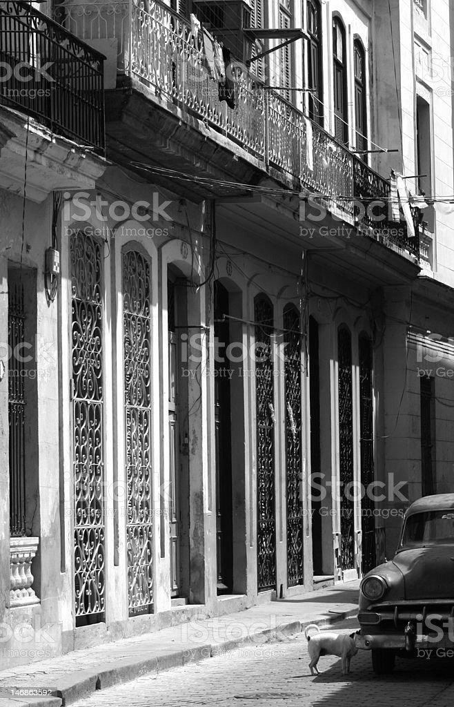 キューバサイド Street ロイヤリティフリーストックフォト