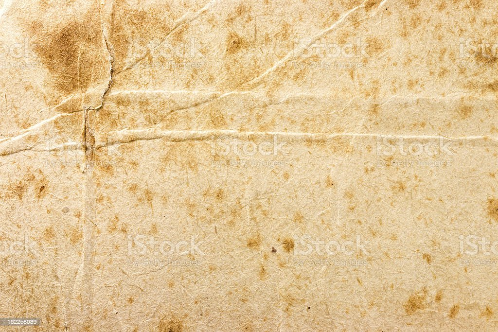 Old damaged paper royalty-free stock photo