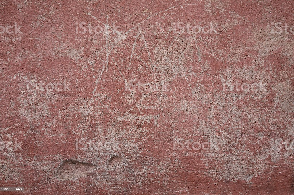 Old damaged wall background stock photo