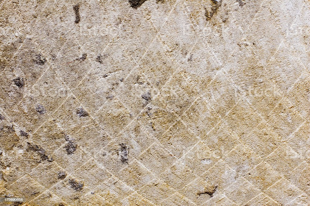 old damaged wall from a concrete stock photo