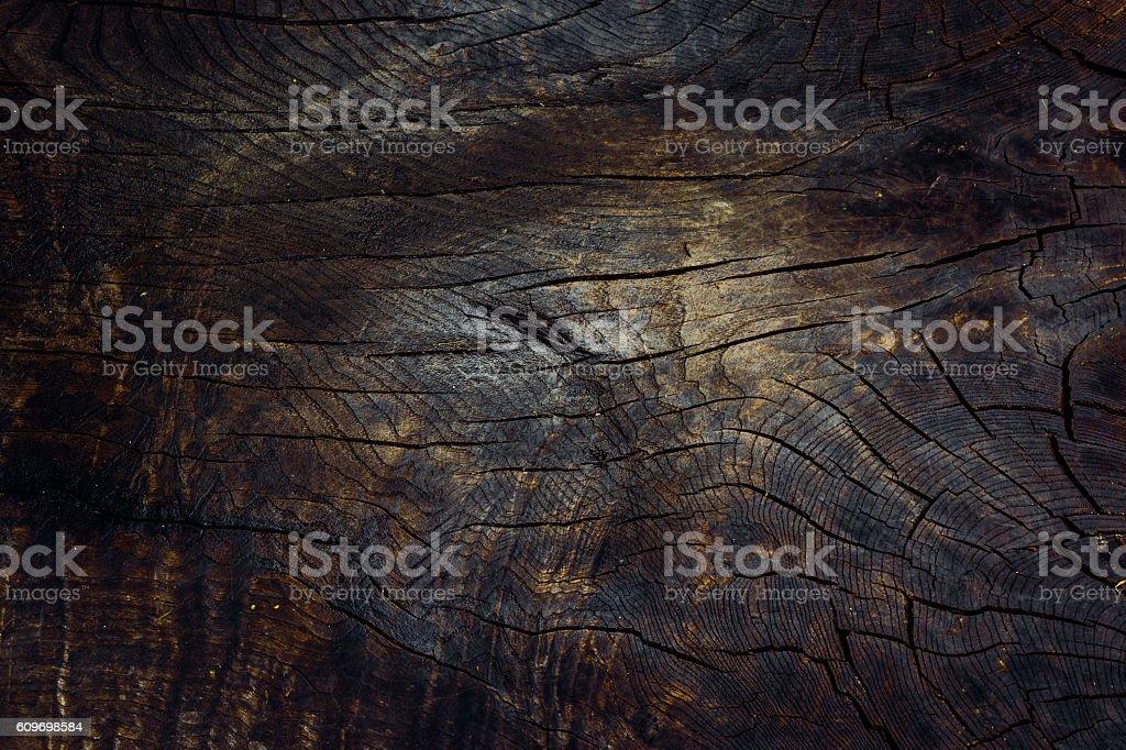 Antigo fundo de madeira marrom escuro foto royalty-free