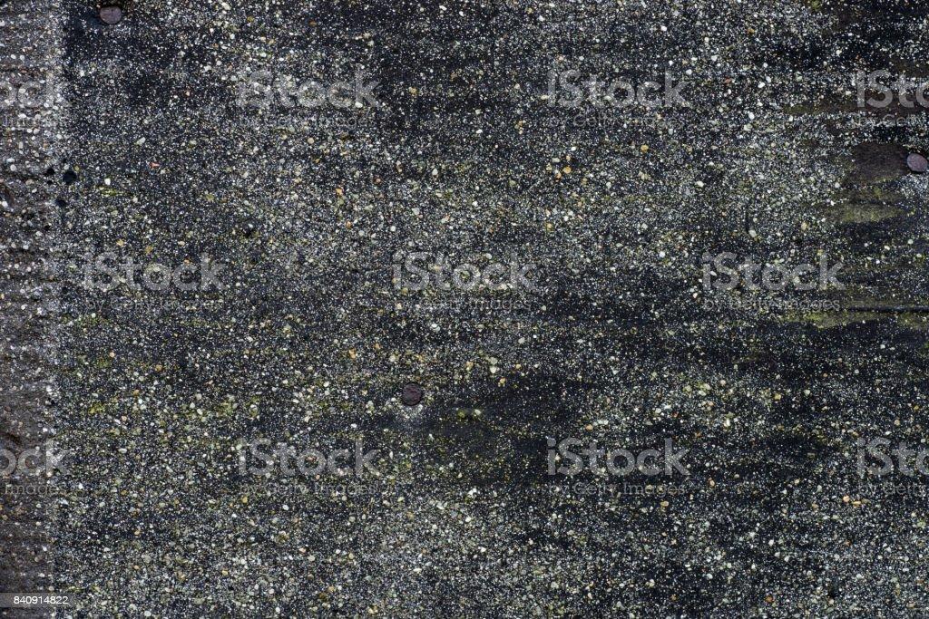 old dark tar paper texture background stock photo