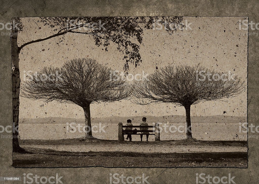 Old days royalty-free stock photo