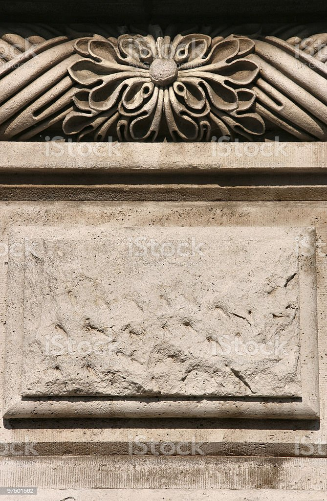 Old decoration royalty-free stock photo