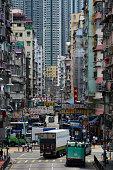 Old Dense Building at Hong Kong
