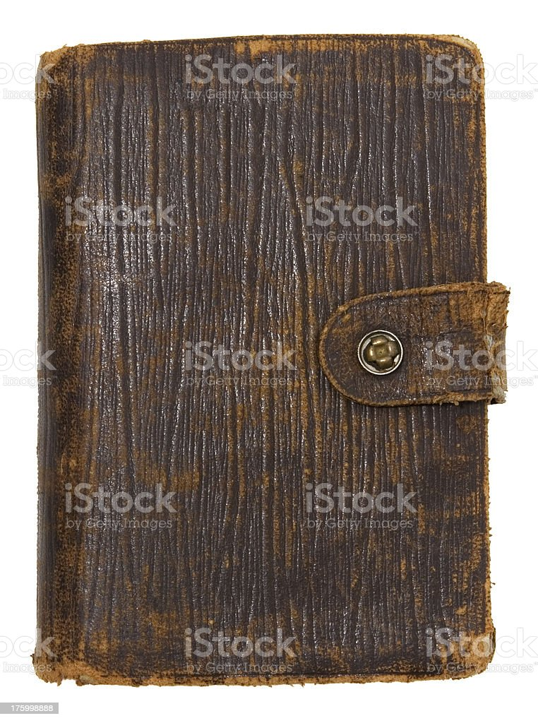 Old Diary royalty-free stock photo