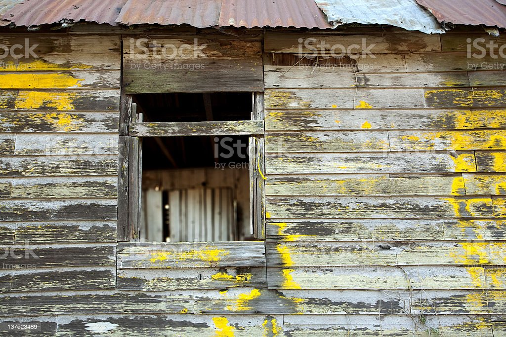 Old Dilapidated Window royalty-free stock photo