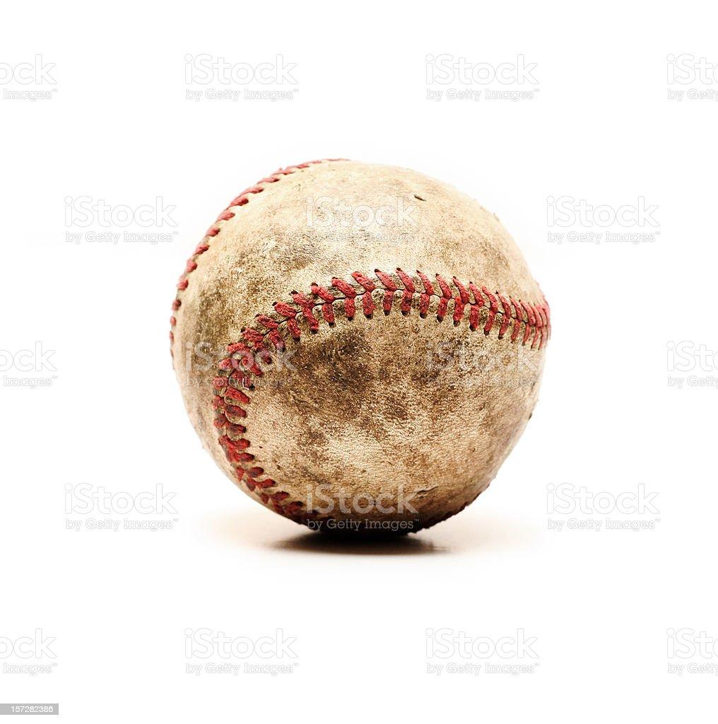 Old Dirty Baseball stock photo