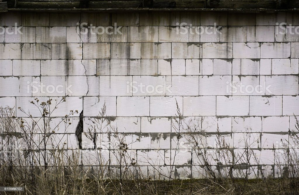 Old dirty brick wall. Grunge background for your design stock photo