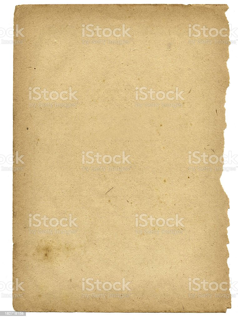 old dirty paper #2 royalty-free stock photo