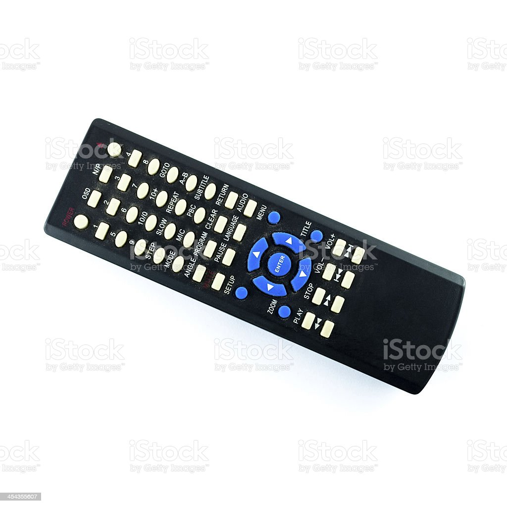 Old dirty remote console royalty-free stock photo