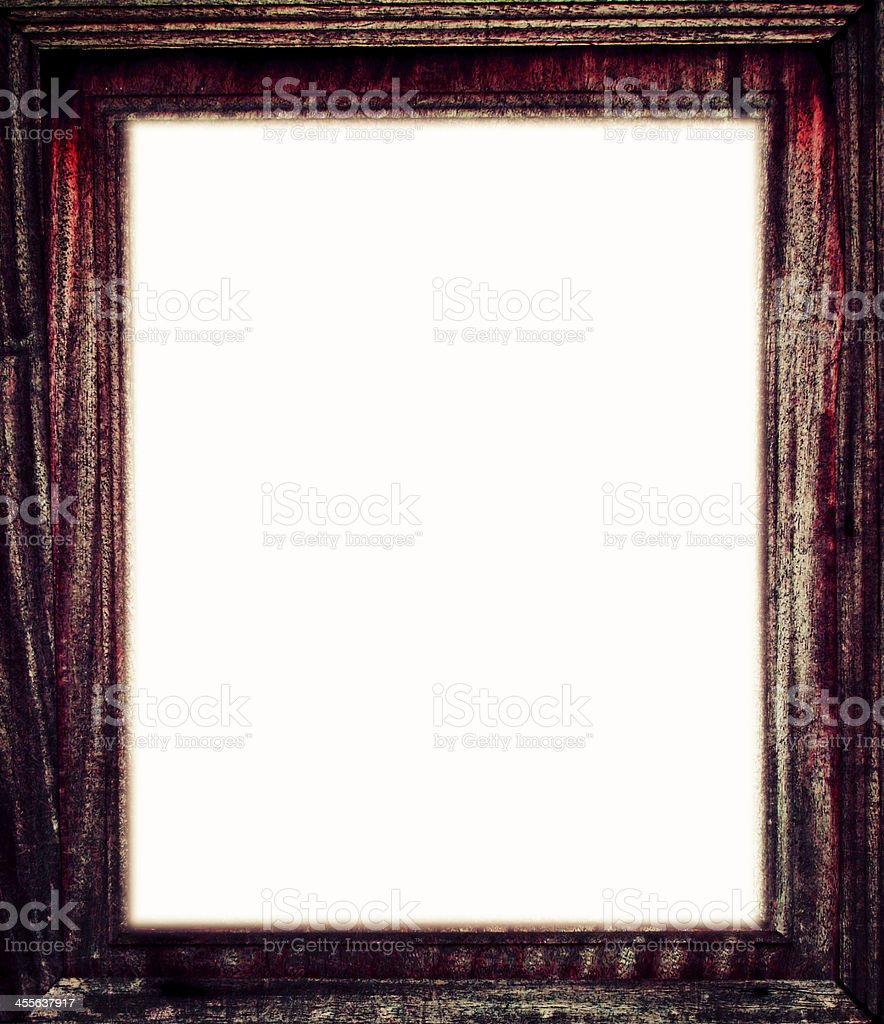 old dirty wood plank frame background royalty-free stock photo
