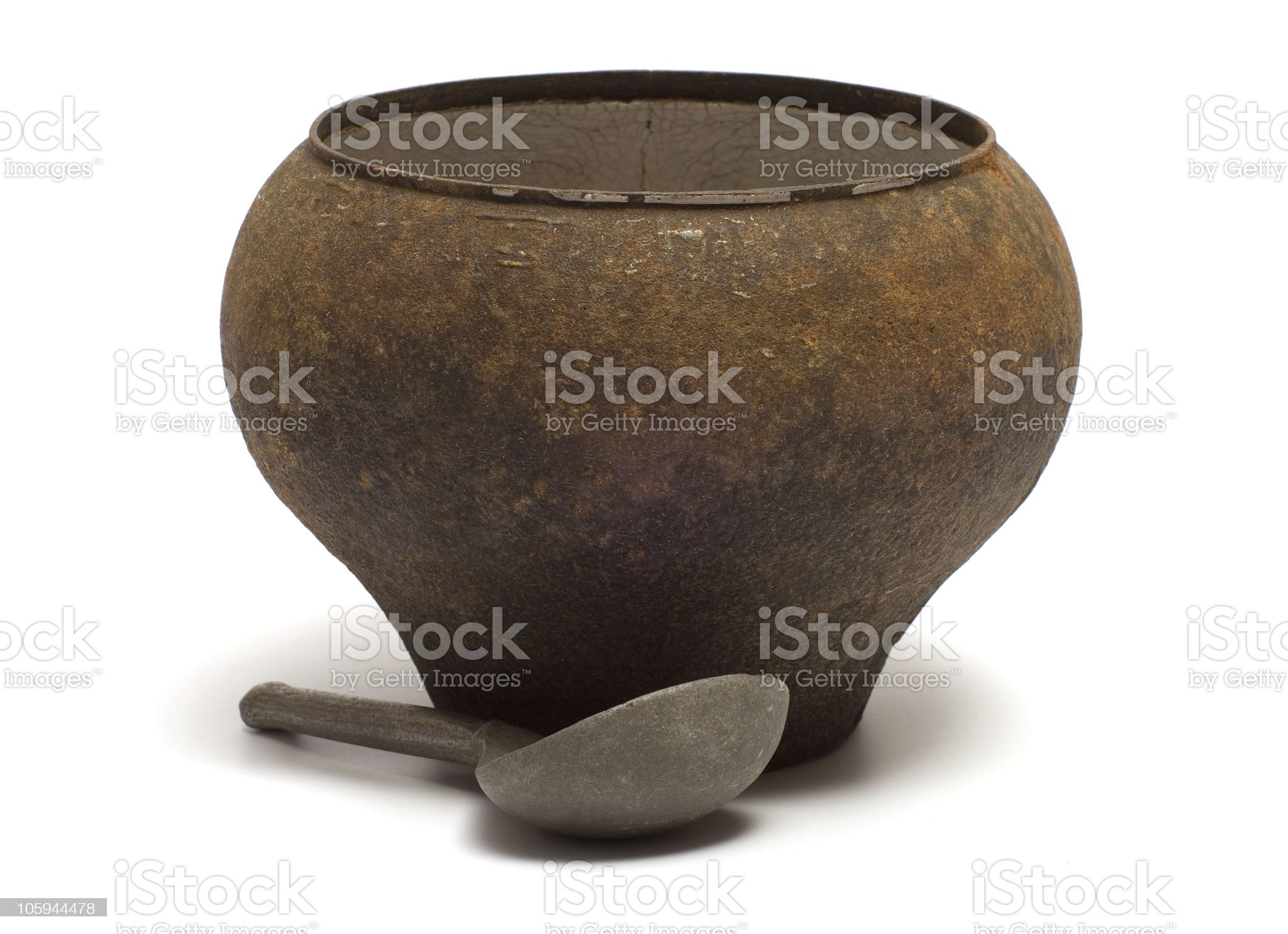 Old dishes. royalty-free stock photo