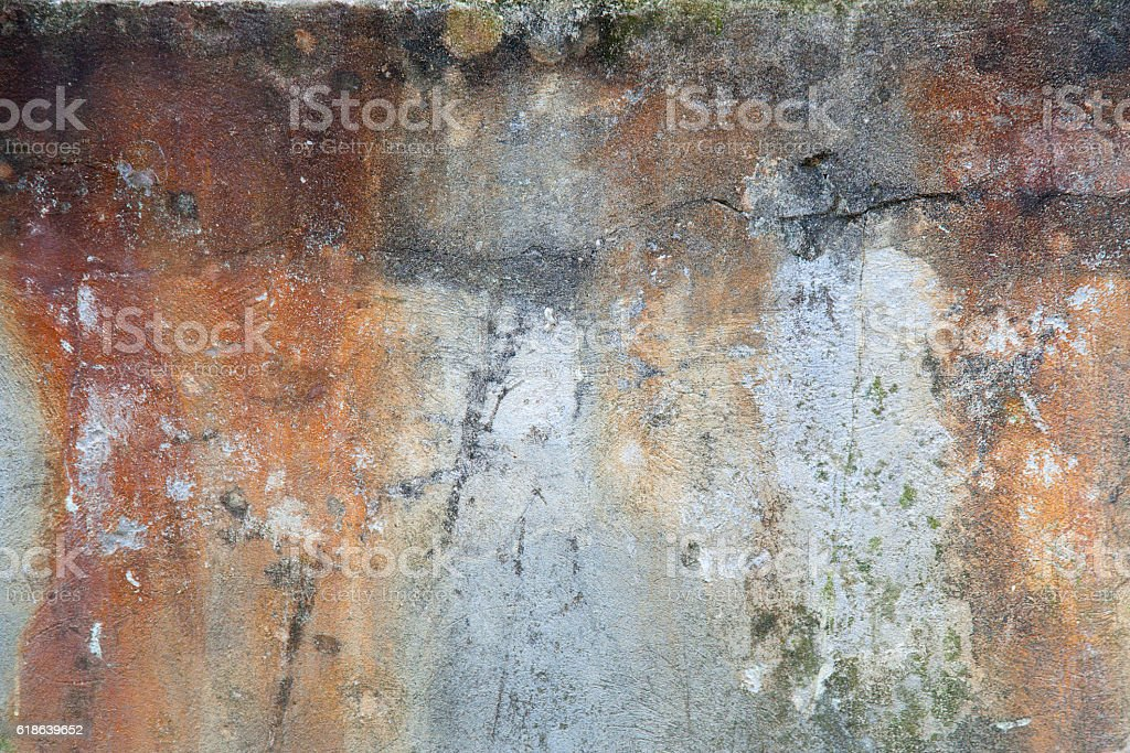 Old distressed wall in Italy stock photo