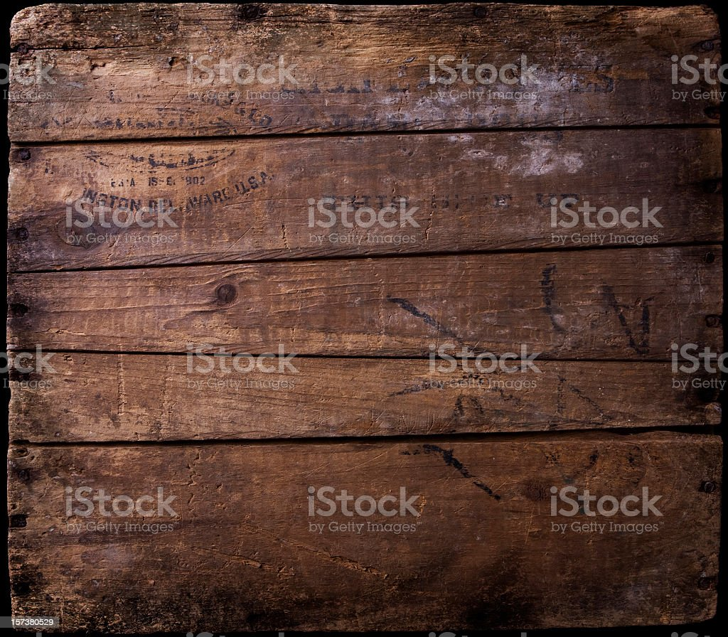 Old distressed wooden planks as a background image royalty-free stock photo