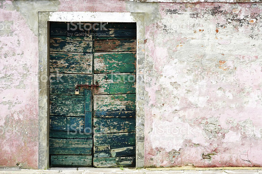 Old door. Color Image royalty-free stock photo