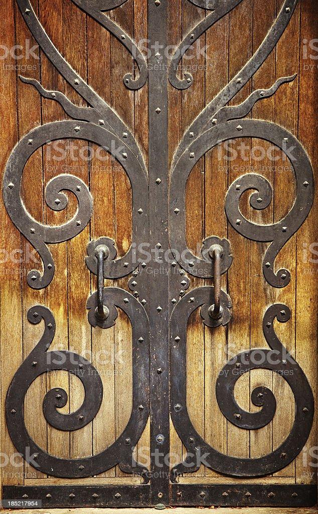 old door detail royalty-free stock photo