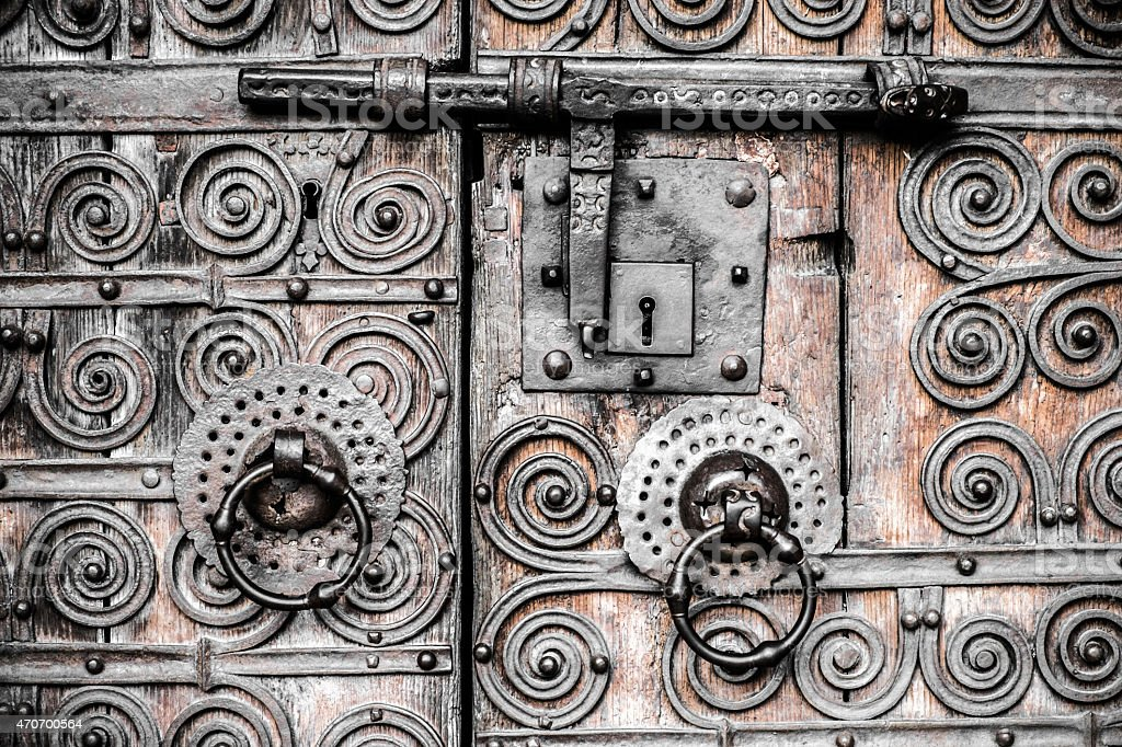 old door detail royalty-free stock photo
