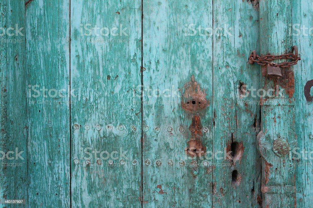 old door panel royalty-free stock photo