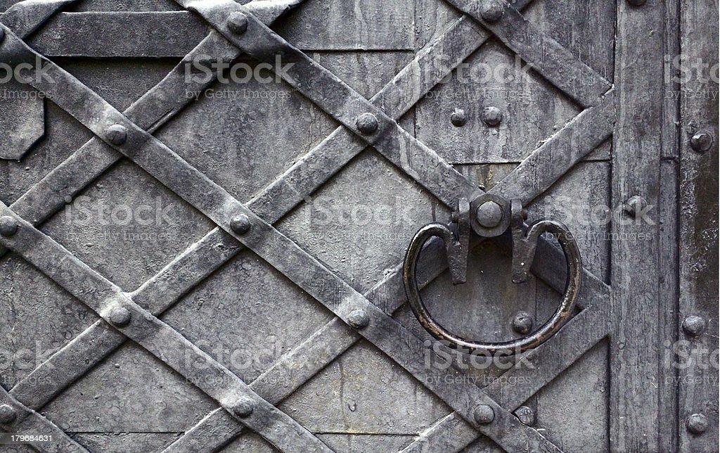 Old door. royalty-free stock photo