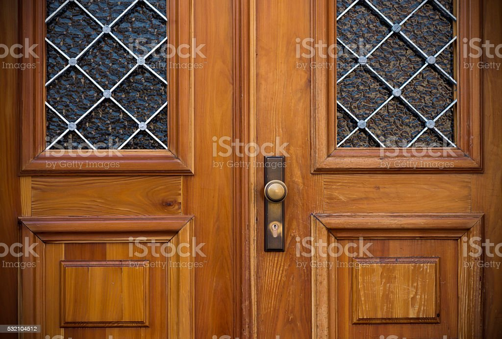 Old doors. stock photo