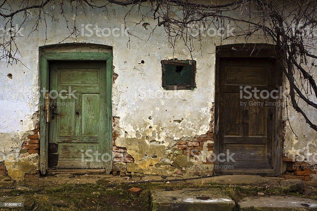 Old doors royalty-free stock photo