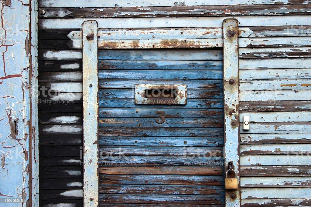 Old doorway in London royalty-free stock photo