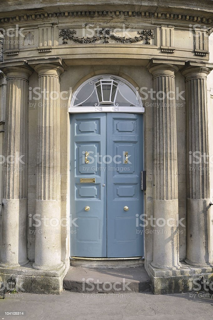 Old Doorway stock photo