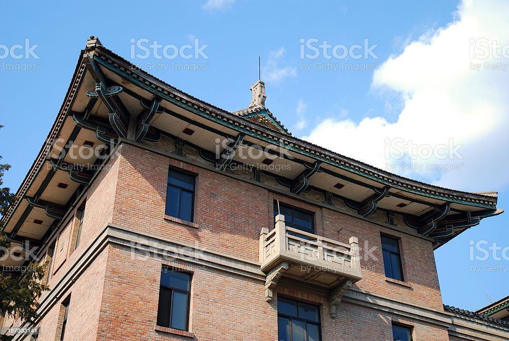 Old Dormitory royalty-free stock photo