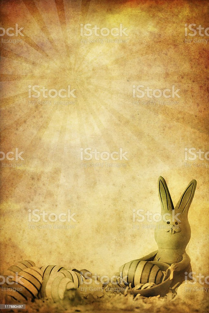 old easter background royalty-free stock photo