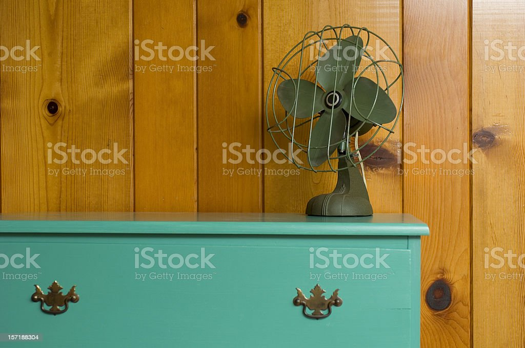 Old Electric Fan stock photo