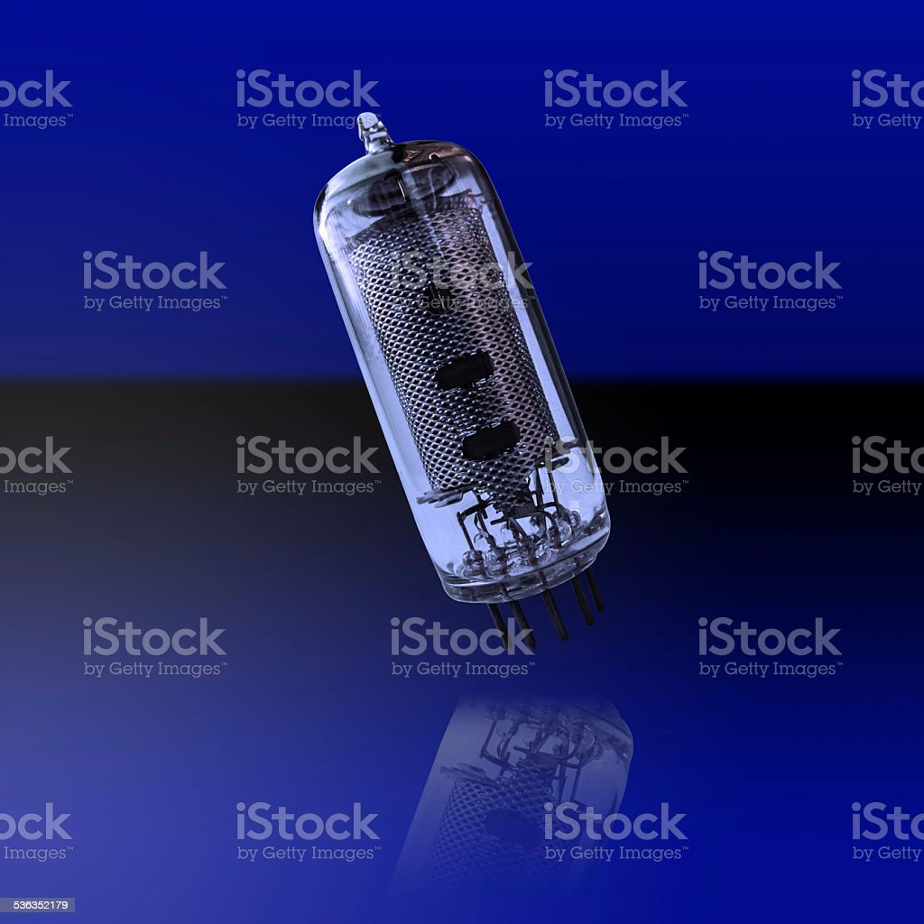 old electronic lamp royalty-free stock photo
