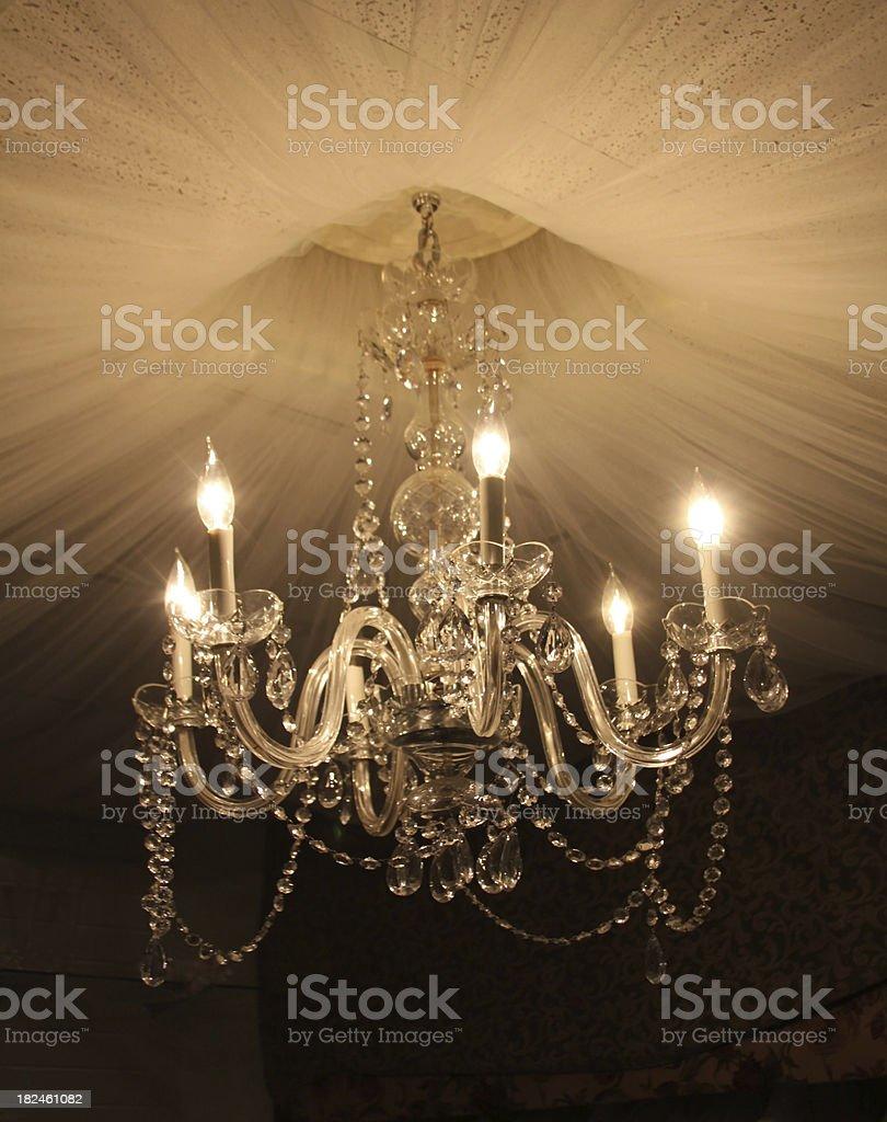Old elegant crystal chandelier stock photo 182461082 istock old elegant crystal chandelier royalty free stock photo arubaitofo Choice Image