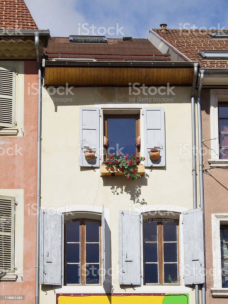 Old elevation royalty-free stock photo