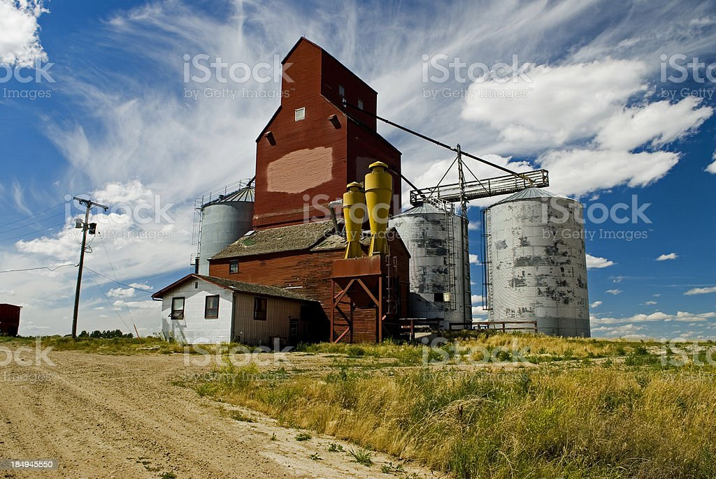 old elevator royalty-free stock photo