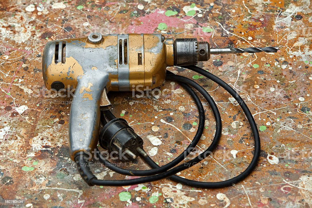 Old English Drill royalty-free stock photo