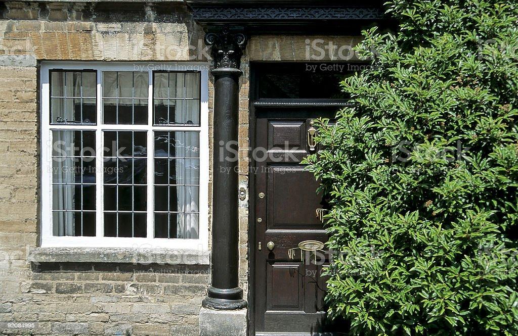 Old English House stock photo