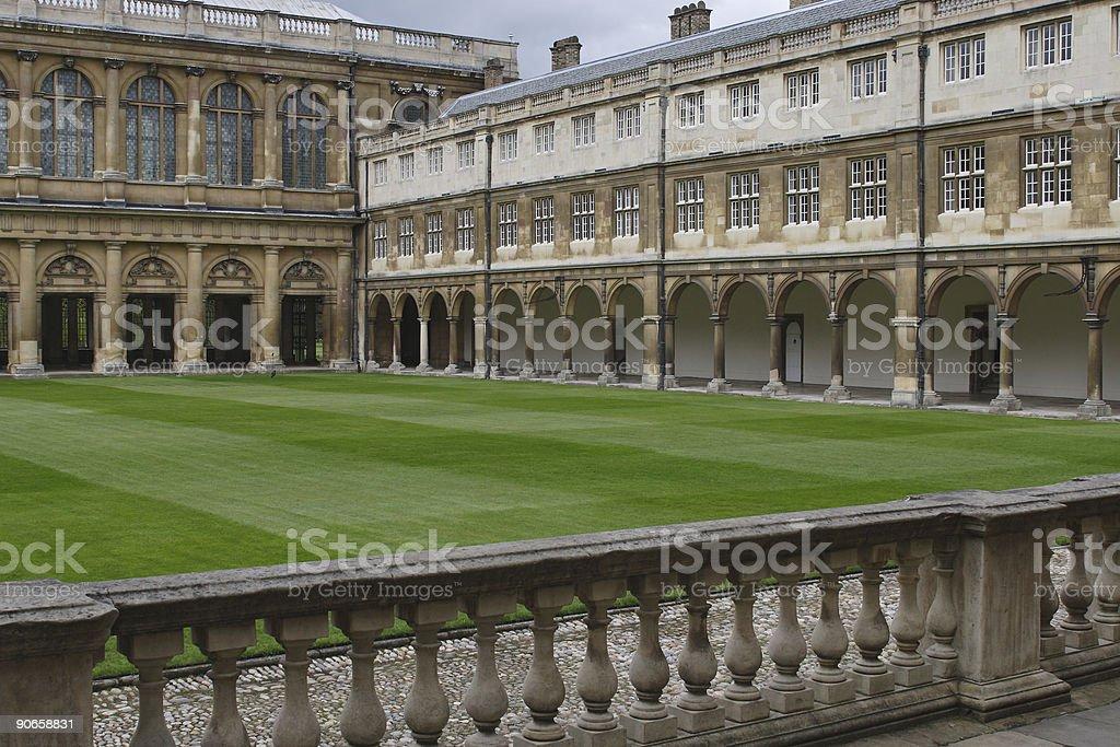 Old English University stock photo