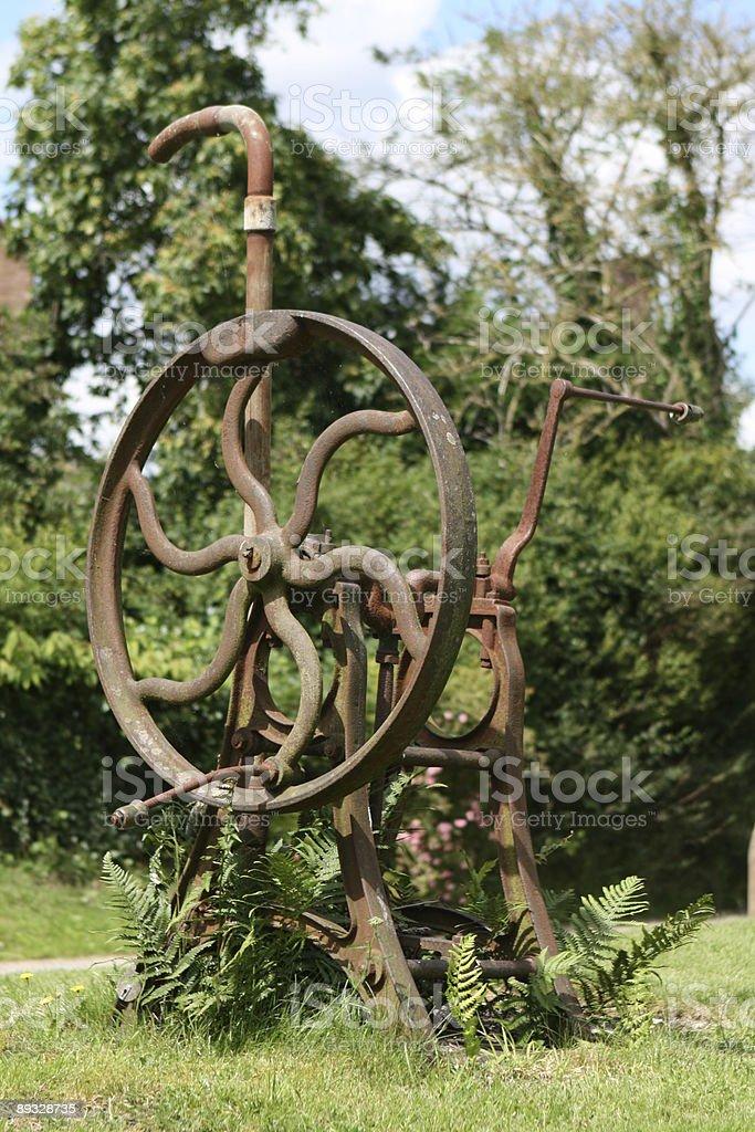 Old english village water pump royalty-free stock photo