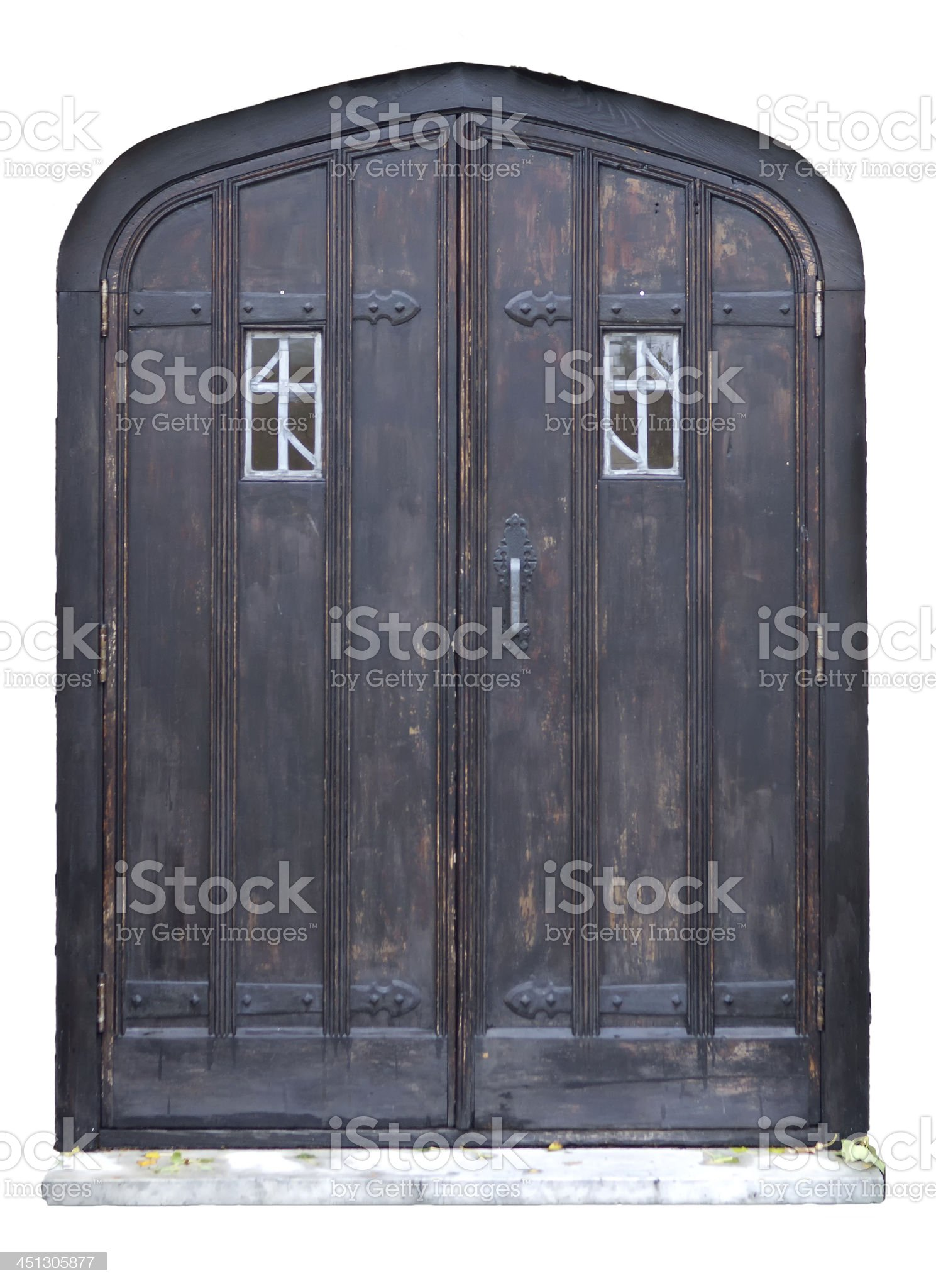 Old Entrance Doors royalty-free stock photo