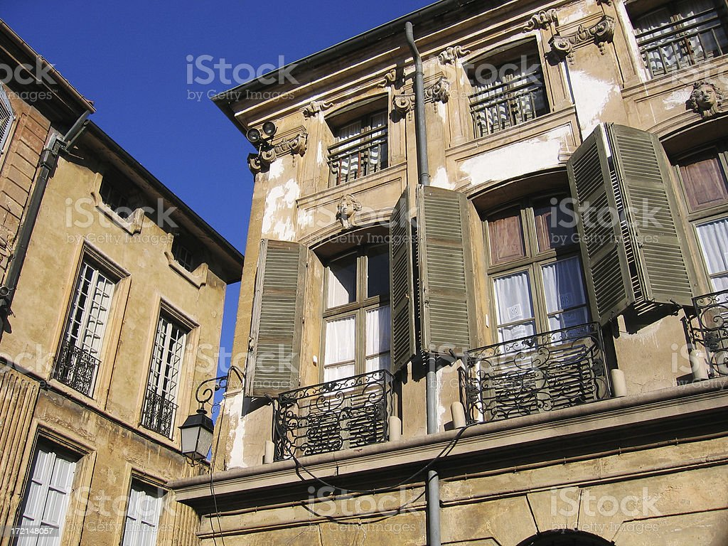 old european buildings royalty-free stock photo