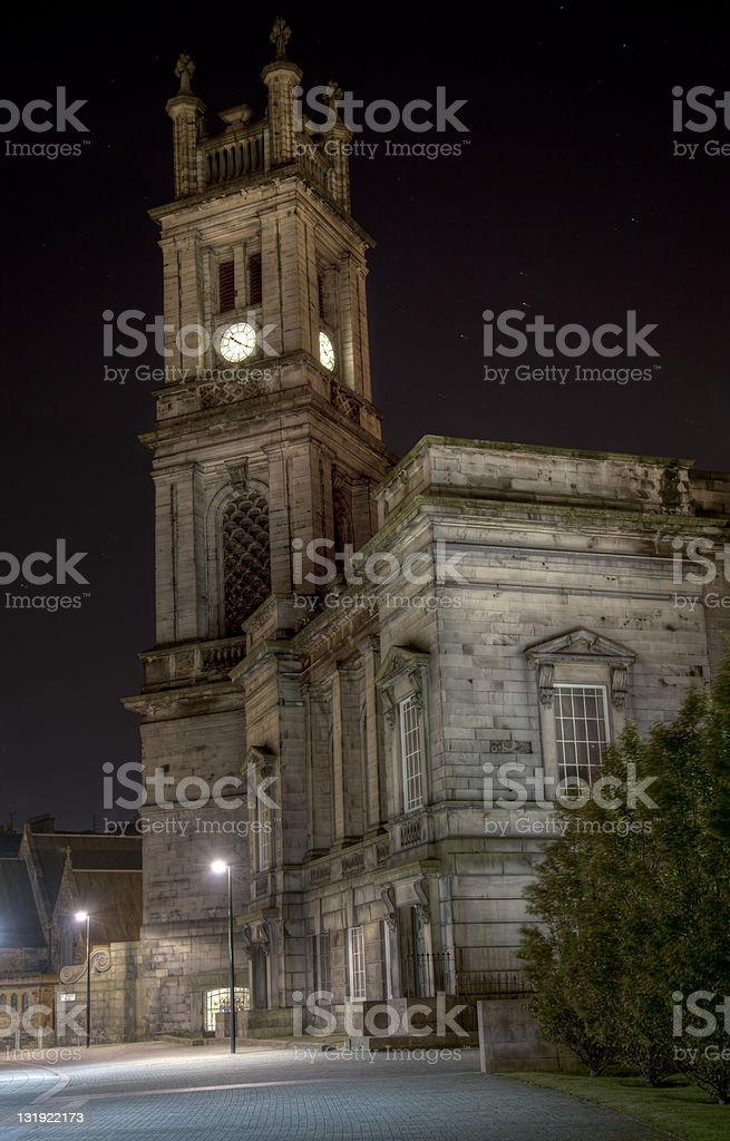 Old European Church royalty-free stock photo